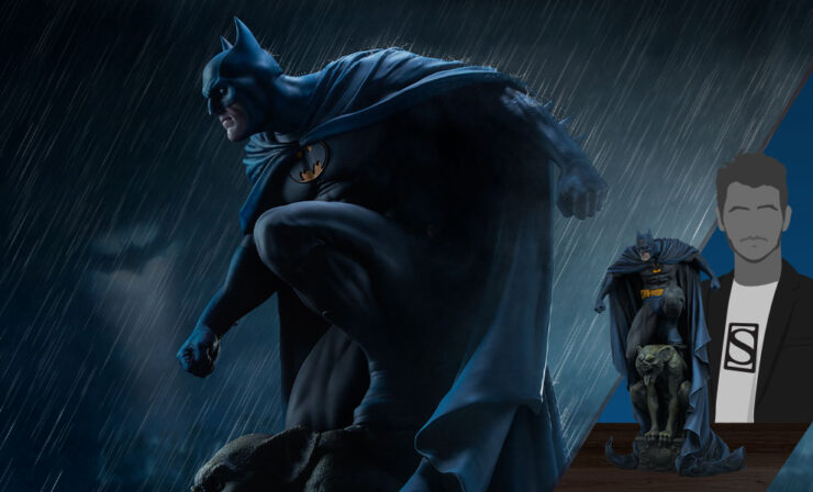 Final Product Photos of the Batman Premium Format™ Figure