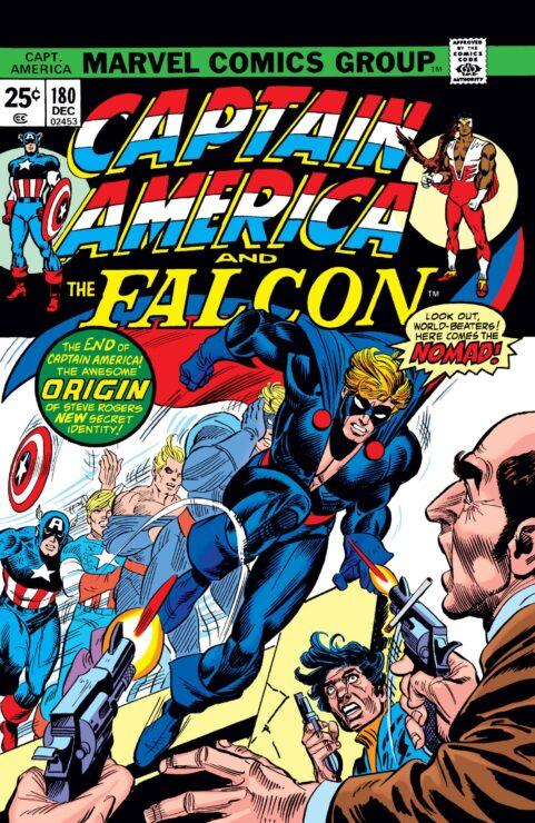 Captain America #180- Nomad Debuts