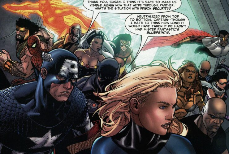 What Marvel Teams has Captain America Joined?