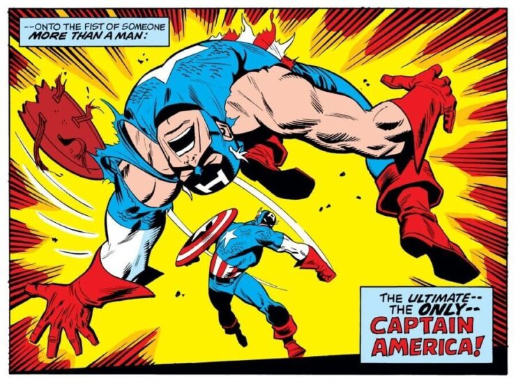 Captain America vs. William Burnside
