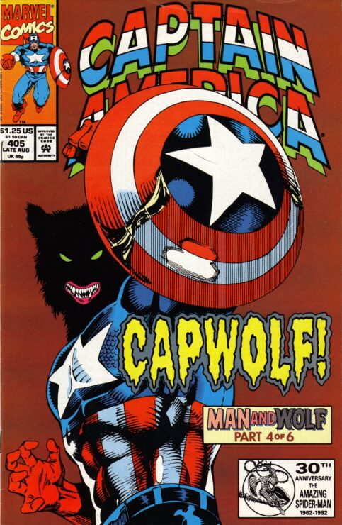 Captain America Becomes a Werewolf