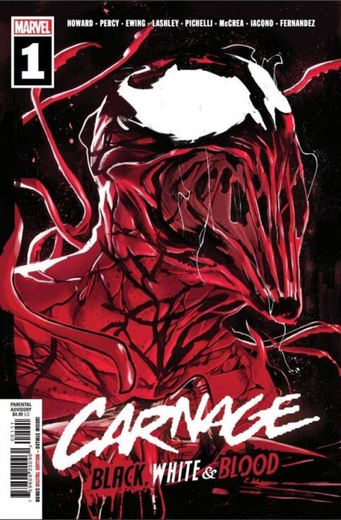 CARNAGE: BLACK, WHITE, AND BLOOD #1 (MARVEL COMICS)