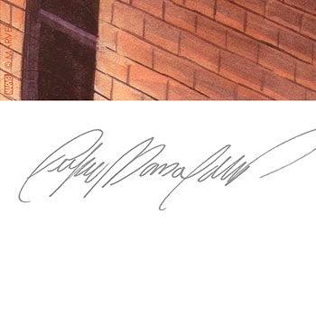 Daredevil and Spider-Man Fine Art Print Felipe Massafera Paper Signature