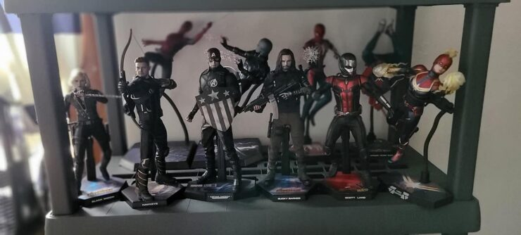 Delvone Bell's Hot Toys collection