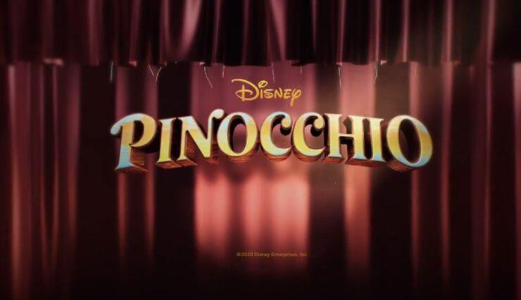 Disney's Pinocchio Title Card