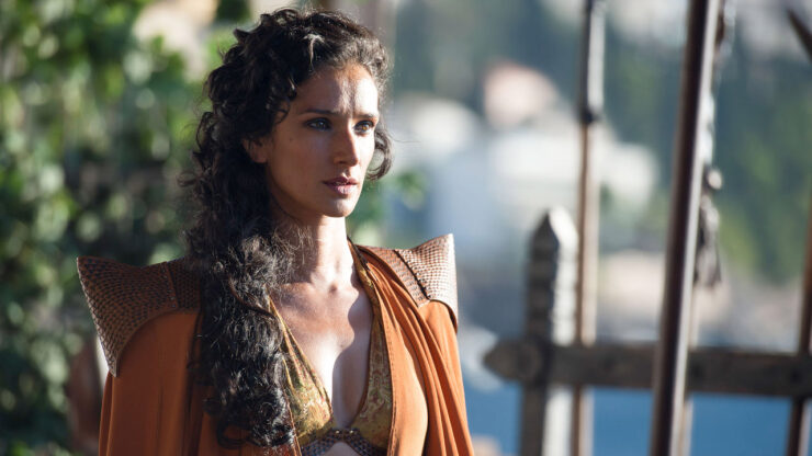 Indira Varma as Ellaria Sand in Game of Thrones