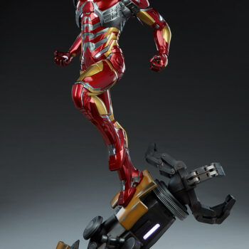 full left quarter side of Iron Man Third Scale Statue