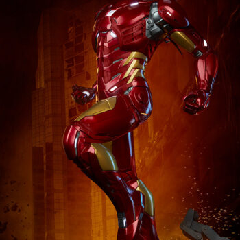 Iron Man Third Scale Statue Close Up Left View