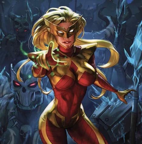 Karla Sofen/Moonstone- Marvel Comics