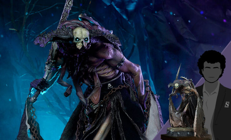 Final Product Photos of the Oglavaeil: Dreadsbane Enforcer Premium Format™ Variant Figure