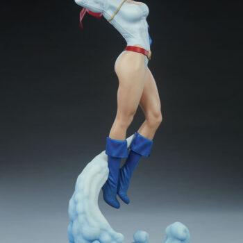 Full figure right side of Power Girl Premium Format Figure