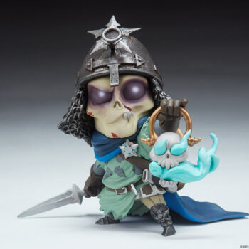 Relic Ravlatch Court-Toons Collectible Statue Front View