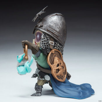 Relic Ravlatch Court-Toons Collectible Statue Left Side