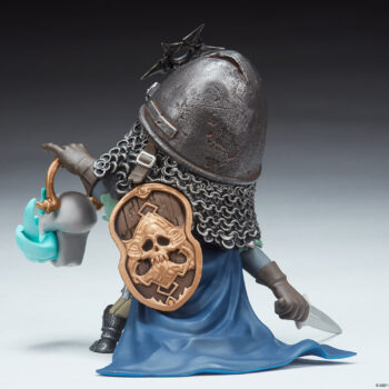 Relic Ravlatch Court-Toons Collectible Statue Left Back 3/4th's view