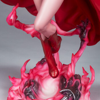 Scarlet Witch Premium Format Figure Close up on feet front