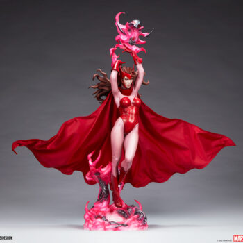 Scarlet Witch Premium Format Figure full body front view