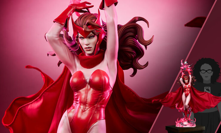 The Scarlet Witch Premium Format™ Figure