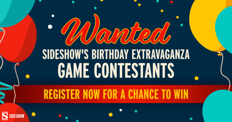 Enter the gleam for the Sideshow Birthday Contestant Search