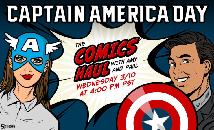 Coming Up on The Comics Haul: Captain America Day