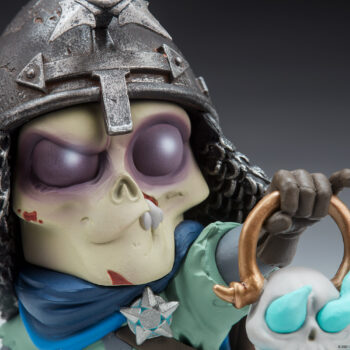 The Relic Court-Toons Collectible Statue Close Up