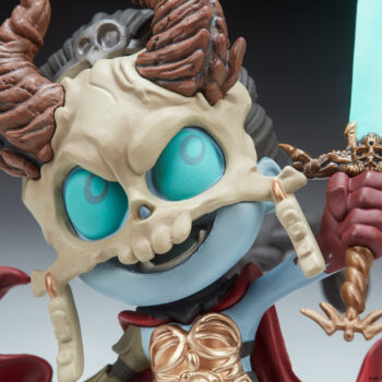 The Kier Court-Toons Collectible Statue Close Up