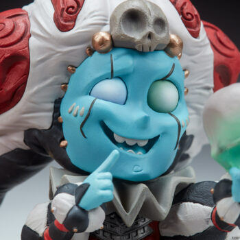 The Malavestros Court-Toons Collectible Statue Close Up