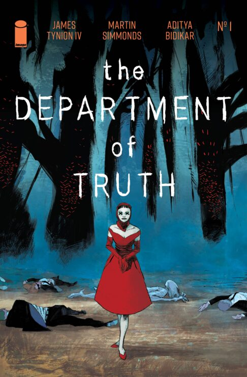 Department of Truth Comic Book Cover