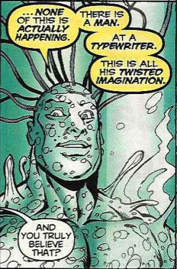 Deadpool Comic- Typewriter Joke