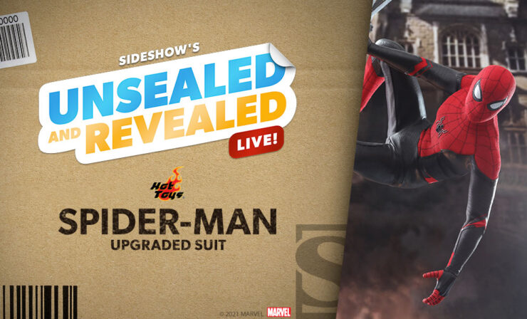 Up Next on Unsealed and Revealed: Spider-Man (Upgraded Suit) Sixth Scale by Hot Toys