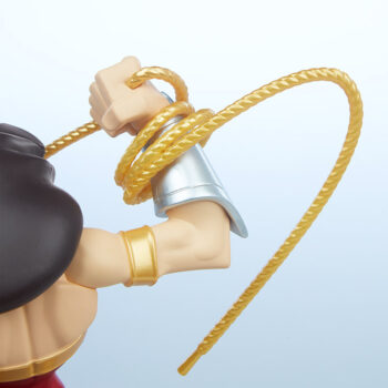 Wonder Woman Designer Collectible Toyby Artist Tracy Tubera Close Up Back View on Right Arm