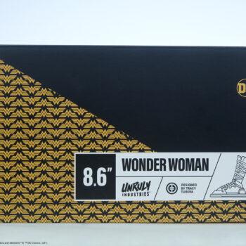 Wonder Woman Designer Collectible Toyby Artist Tracy Tubera bottom of box