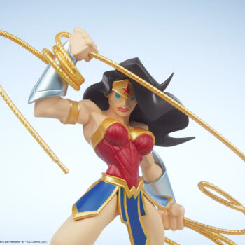 Wonder Woman Designer Collectible Toyby Artist Tracy Tubera Front View Upper Body Close Up