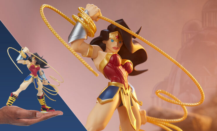 Wonder Woman Designer Collectible Toyby Artist Tracy Tubera Feature