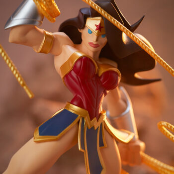 Wonder Woman Designer Collectible Toyby Artist Tracy Tubera Front View Close up
