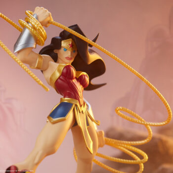 Wonder Woman Designer Collectible Toyby Artist Tracy Tubera Upper Body Close Up In Rocks