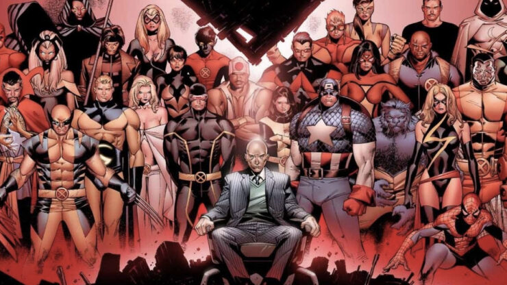 X-Men and Avengers in House of M