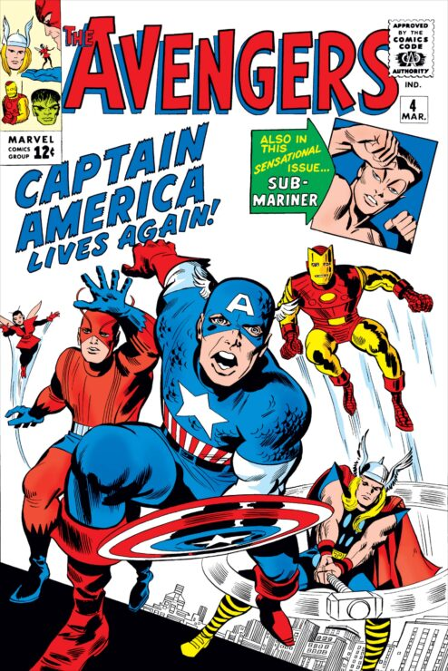 Avengers #4 Cover