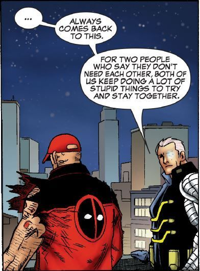 cable & deadpool together