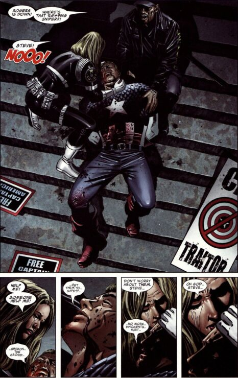 The Death of Captain America Panel
