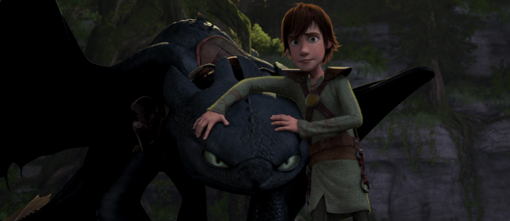 Hiccup Toothless How To Train Your Dragon