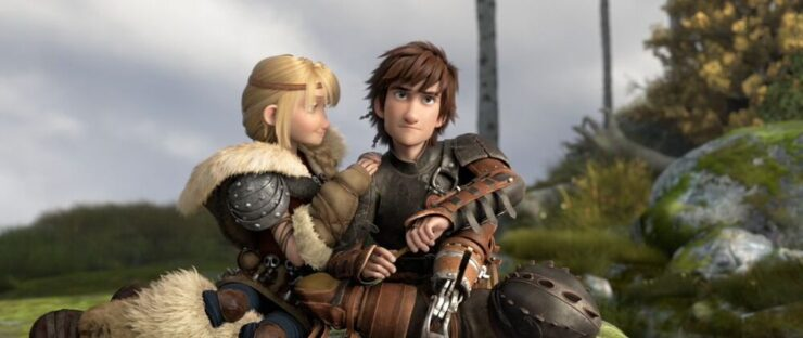 Hiccup & Astrid, How To Train Your Dragon 2