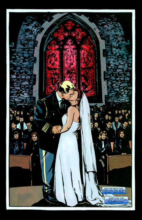 Captain America Marries Jessica Jones