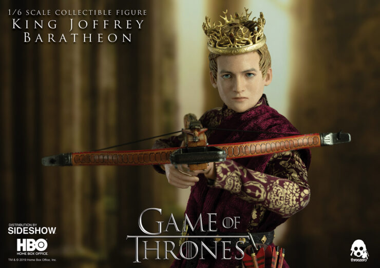 Joffrey Baratheon Sixth Scale Figure with Crossbow