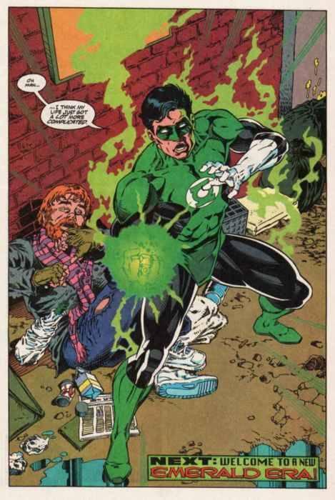 Kyle Rayner Becomes Green Lantern