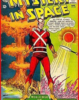 Adam Strange- Mystery in Space Cover
