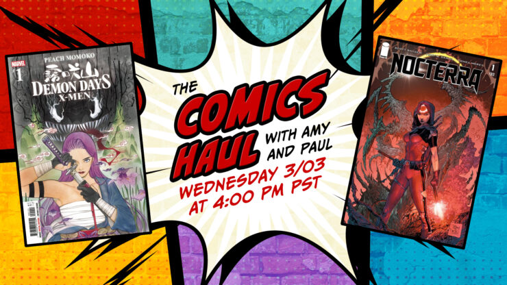Discussing Nocterra #1 with Special Guest Scott Snyder- The Comics Haul with Amy and Paul: March 3, 2021
