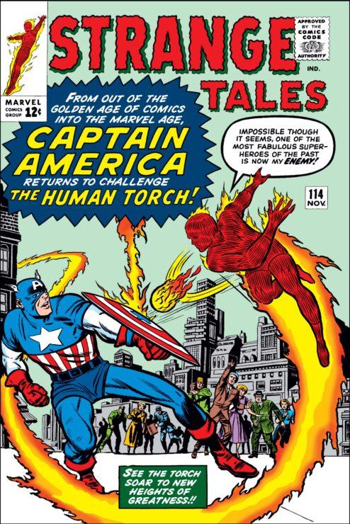 Strange Tales #114 Cover