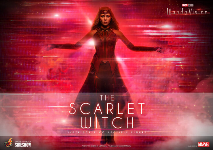 The Scarlet Witch Sixth Scale Figure- Hot Toys