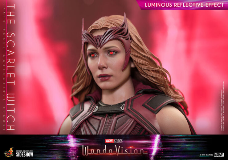 The Scarlet Witch Sixth Scale Figure- Luminous Eyes