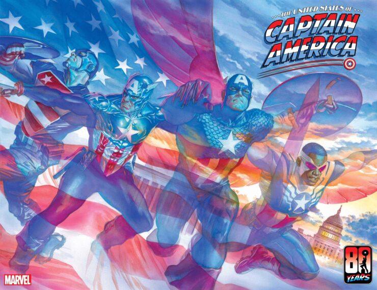 United States of Cap- Marvel Comics Announcement